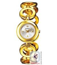 นาฬิกาผู้หญิง Casio Standard Analog รุ่น LTP-1348G-7C