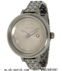 นาฬิกาข้อมือ Fossil รุ่น AM4390 Grey Stainless-Steel Quartz Watch with Beige Dial