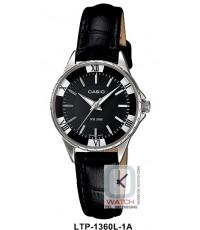 นาฬิกาข้อมือผู้หญิง Casio Standard รุ่น LTP-1360L-1