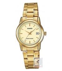 นาฬิกาข้อมือผู้หญิง Casio รุ่น LTP-V002G-9A