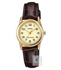 นาฬิกาข้อมือผู้หญิง Casio รุ่น LTP-V001GL-9B