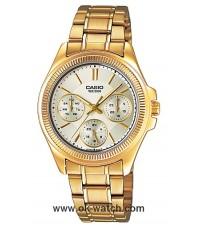 นาฬิกาข้อมือผู้หญิง Casio รุ่น LTP-2088G-9AV