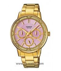 นาฬิกาข้อมือผู้หญิง Casio รุ่น LTP-2087G-6AV