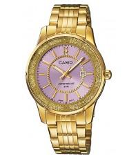 นาฬิกาข้อมือผู้หญิง Casio รุ่น LTP-1358G-6AV ของใหม่ ของแท้