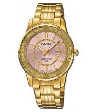 นาฬิกาข้อมือผู้หญิง Casio รุ่น LTP-1358G-4AV ของใหม่ ของแท้