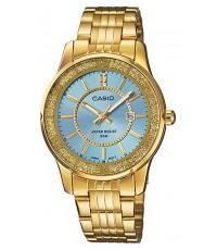 นาฬิกาข้อมือผู้หญิง Casio รุ่น LTP-1358G-2AV ของใหม่ ของแท้
