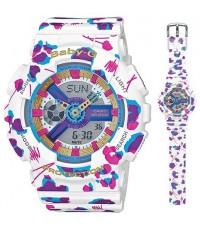 นาฬิกา Casio Baby-G รุ่น BA-110FL-7A ของแท้ ของใหม่ รับประกัน 1 ปี