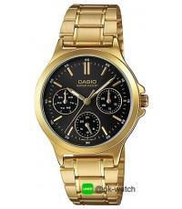นาฬิกาข้อมือผู้หญิง Casio standard รุ่น LTP-V300G-1A ของใหม่ ของแท้