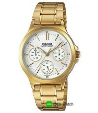 นาฬิกาข้อมือผู้หญิง Casio standard รุ่น LTP-V300G-7A ของใหม่ ของแท้