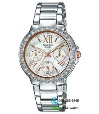 นาฬิกาข้อมือผู้หญิง Casio Sheen รุ่น SHE-3052D-7A