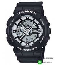 นาฬิกาผู้ชาย Casio G-Shock Limited รุ่น GA-110BW-1A ของใหม่ ของแท้