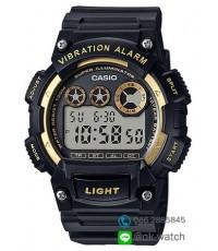 นาฬิกาผู้ชาย Casio 10 Year Battery รุ่น W-735H-1A2V ของใหม่ ของแท้