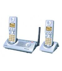 โทรศัพท์ไร้สายแบบดิจิตอล KX-TG2854BX  ใช้งานได้สูงสุดถึง 6 เครื่อง