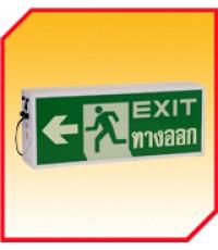 ป้ายไฟทางออก BOX (SINGLE) SIGN EX - SERIES