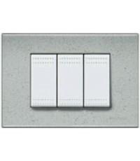 My Home Bticino ไวท์  หน้ากากฝาครอบชุดไลท์ มีสีขาว 3 แบบให้เลือก