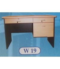 โต๊ะทำงาน/บัญชี HW-W19