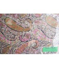 ปลอกหมอนหนุน ผ้าซาตินแท้ 330 เส้น ลายไทยคลาสิค (หลากสี)