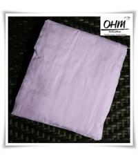 ปลอกที่นอนปิคนิคแบบซิป ผ้าคอตตอนแท้ 440 เส้น ขนาด 3.5 ฟุต (42 นิ้ว x 78 นิ้ว) ลายสี่เหลี่ยมชมพู