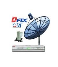 ชุดจานดาวเทียม D-FIX OTA