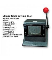 เครื่องตัดกระดาษวงกลม สำหรับเข็มกลัดขนาด 4.4ซม.