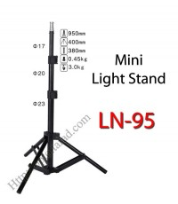 LN-95 Mini Light Stand for Flash Studio (H/95cm.)