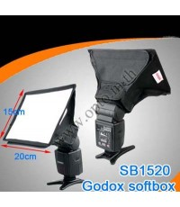 Godox Portable softbox for Speedlite(Universal type) 15*20cm