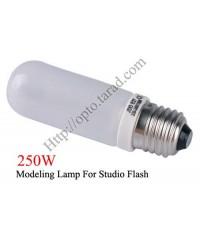 250W Modeling Lamp for Studio Flash