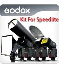 Godox SA-K6 6in1 Accessories Kit for Speedlite