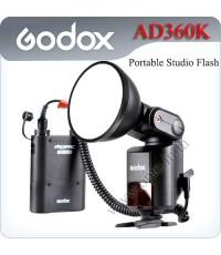 Godox WITSTRO AD360kit (360W/S, GN80 barebulb flash + PB960 lithium battery pack)