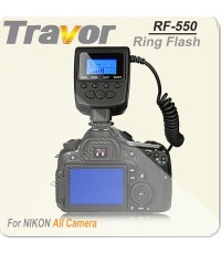 RF-550 Travor LED Macro ring flash for Canon  Nikon