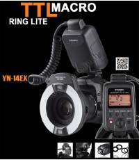YN-14EX TTL Macro Ring flash for Canon ริงแฟลชแบบออโต้