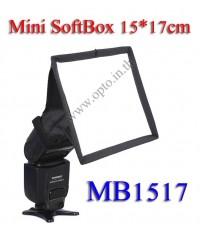 MB1517 MiniBox Portable softbox for Speedlite(Universal type) 15*17cm