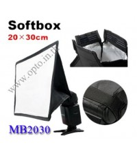 MB2030 MiniBox Portable softbox for Speedlite(Universal type) 20*30cm
