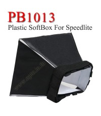 PB1013 Plastic Portable softbox for Speedlite(Universal type) 10*13cm