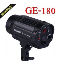 GE-180 Mini Studio Flash NiceFoto 180W แฟลชสตูดิโอ