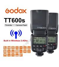 TT600s HSS Godox Flash Speedlight Manual for Sony (Built in Wireless Radio 2.4G) แฟลชหัวค้อน