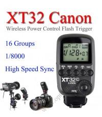 XT-32 XT32c Canon Wireless 2.4Ghz Control For Flash Godox QS QT DE GS Series AD360 AD600