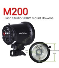 M-200 M200 Mount Bowens Studio Flash NiceFoto 200W แฟลชสตูดิโอ