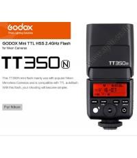 TT350N Flash Godox For Nikon DSLR and Mirroless TTL HSS Wireless Trigger 2.4Ghz Flash แฟลชหัวค้อน