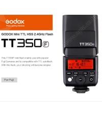 TT350F Flash Godox For Fuji DSLR and Mirroless TTL HSS Wireless Trigger 2.4Ghz Flash แฟลชหัวค้อน