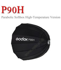 P90H Godox Parabolic Softbox Bowen\'s Mount For Studio Flash, 90CM พาราโบลิก ซอฟท์บ๊อกซ์ ไฟสตูดิโอ