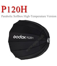 P120H Godox Parabolic Softbox Bowen\'s Mount For Studio Flash, 120CM พาราโบลิก ซอฟท์บ๊อกซ์ ไฟสตูดิโอ