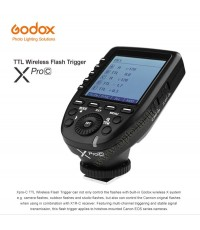 XPro-C XProC Godox Trigger Canon Auto TTL Wireless Remote Control Flash  ทริกเกอร์โกดอกโปรแคนนอน