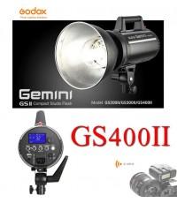 GS400II GS-400II Godox Studio Strobe Flash 400W Built in 2.4Ghz wireless X System แฟลชสตูดิโอ