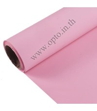 Pink Paper Background Backdrop 2.72x11m. ฉากกระดาษสีชมพู Seamless Paper