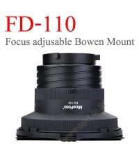 FD-110 Focus Adjustable Light, Barndoor, Honey Comb with Bowens Mount
