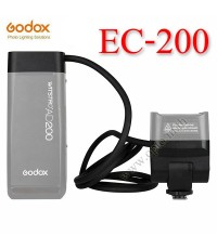 EC-200 Godox Extension Cable Head 1.85m Hot Shoe Remote Separation for Flash AD200 สายต่อแฟลช