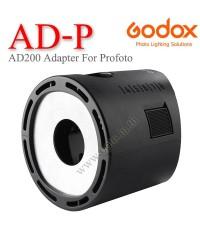 AD-P Godox Adapter Strobe Flash AD200 to Profoto Accessories ตัวแปลงหัวแฟลชจากAD200เป็นProfoto