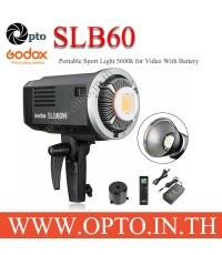 Godox SLB60 5600K Sport Light for Video With Battery ไฟLEDสปอร์ตไลท์สำหรับวีดีโอ+แบตเตอรี่