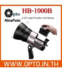 HB-1000B 5500K Sport Light for Video With Battery ไฟLED100Wสปอร์ตไลท์สำหรับวีดีโอ+แบตเตอรี่